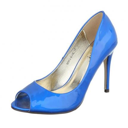 Damen Peeptoes - blue