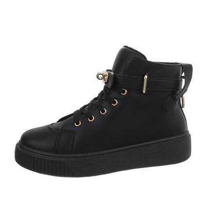Damen High-Sneakers - black