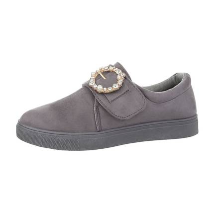 Damen Slipper - gray