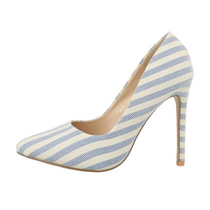 Damen High-Heel Pumps - blue