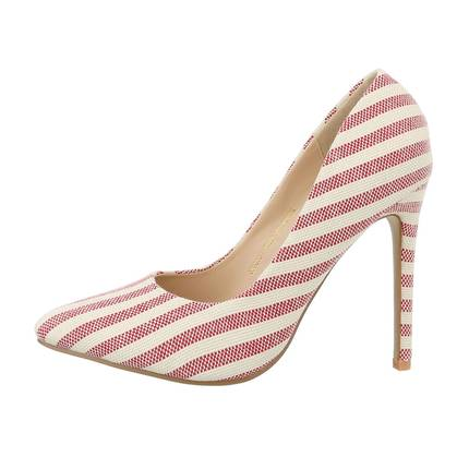 Damen High-Heel Pumps - red