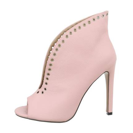 Damen Peeptoes - pink