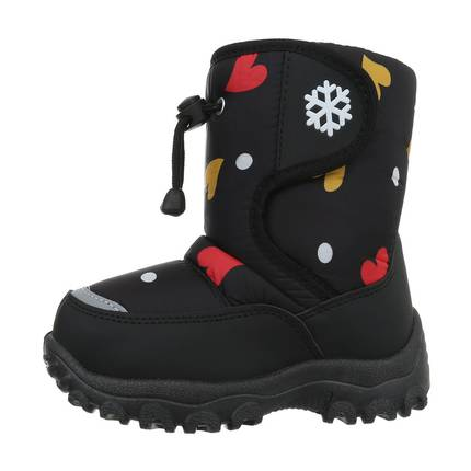 Kinder Stiefeletten - blackred