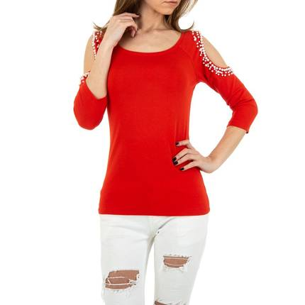 Damen Shirt von MC Lorene Gr. One Size - red