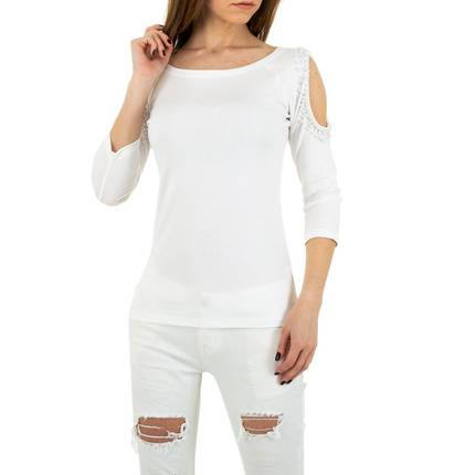 Damen Shirt von MC Lorene Gr. One Size - white