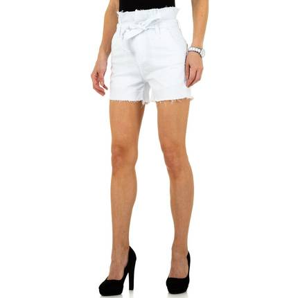 Damen Shorts von By Sasha - white