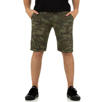 Herren Shorts von Yes Design - khaki