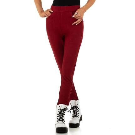 Damen Hose von Simply Chic - wine