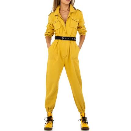 Damen Overall von See See Denim - yellow
