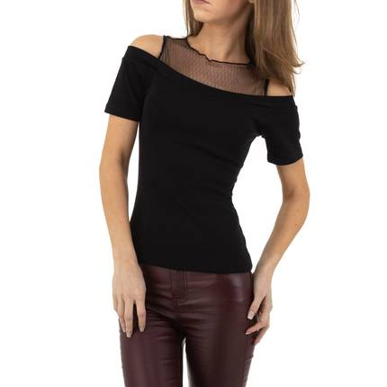 Damen Shirt von Glo Story - black