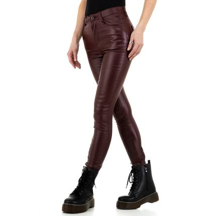 Damen Hose von Naumy Jeans - bordeaux
