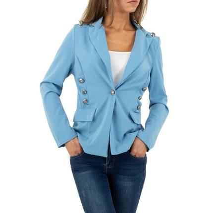 Damen Jacke von SHK Paris Gr. One Size - blue