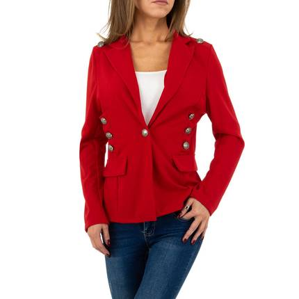 Damen Jacke von SHK Paris Gr. One Size - red