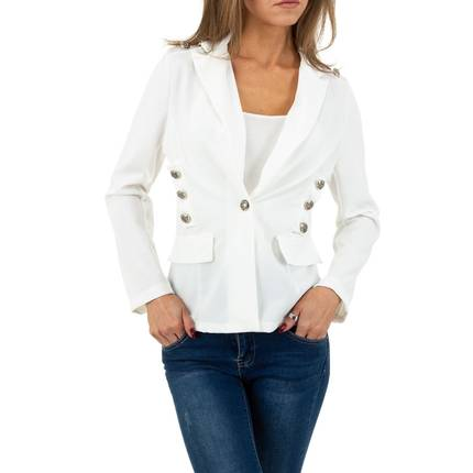 Damen Jacke von SHK Paris Gr. One Size - white