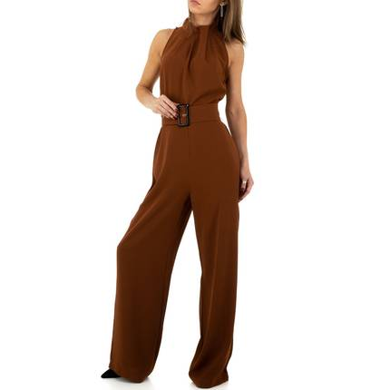 Damen Overall von JCL - brown