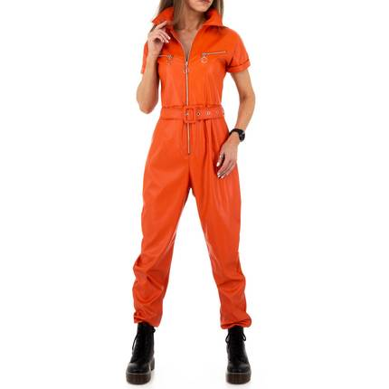 Damen Overall von Emma&Ashley Design - orange