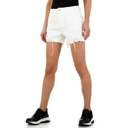 Damen Shorts von Jewelly Jeans - white