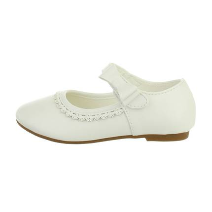 Kinder Ballerinas - white