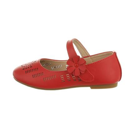 Kinder Ballerinas - red