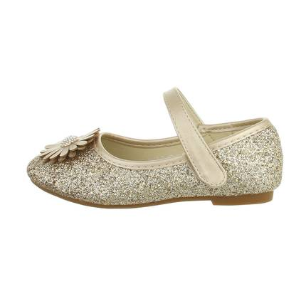 Kinder Ballerinas - gold