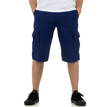 Herren Shorts von Nature - royalblue