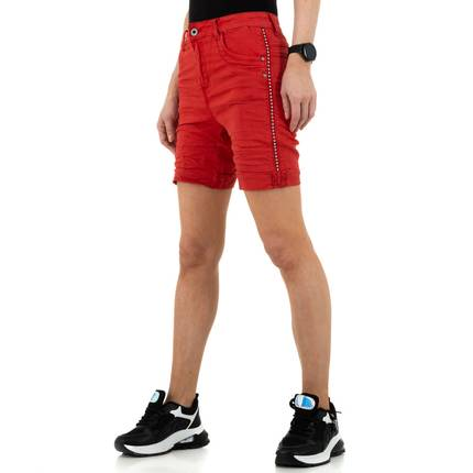 Damen Shorts von Jewelly Jeans - red