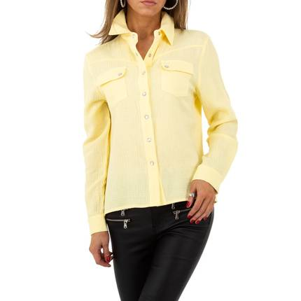 Damen Hemdbluse von Drole de Copine - yellow