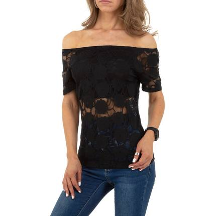 Damen Bluse von Whoo Fashion - black