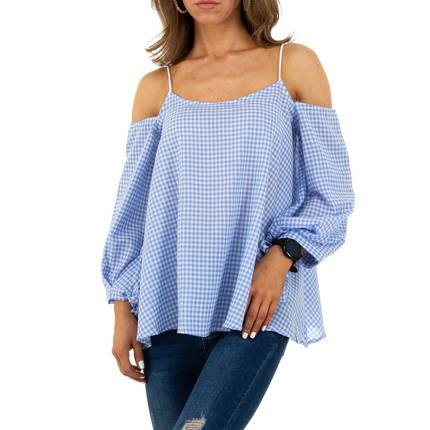 Damen Bluse von Whoo Fashion - L.blue