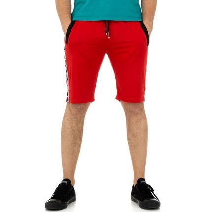 Herren Shorts von Play Back - red