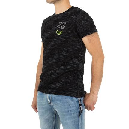 Herren T-shirt von Nature - black