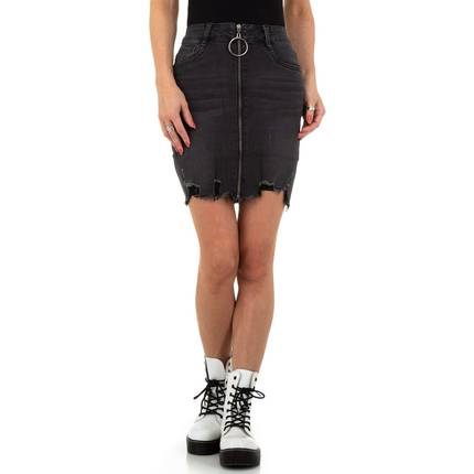Damen Rock von Redial Denim Paris - black