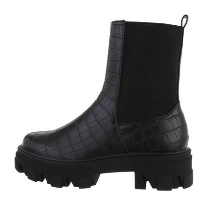 Damen Chelsea Boots - blackcroco