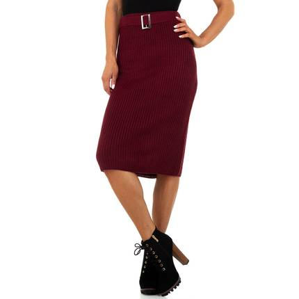 Damen Rock von Drole de Copine Gr. One Size - wine