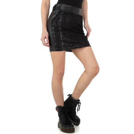 Damen Rock von M.Sara Denim - black